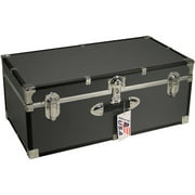 Mercury Luggage Seward Trunk Stackable Storage Footlocker, 30""
