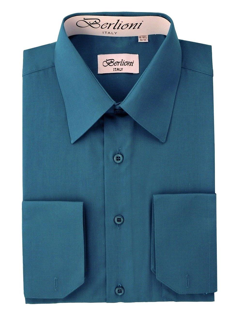Men's Solid Color Dress Shirt