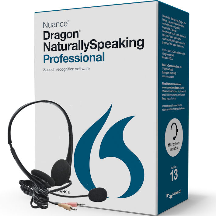 Nuance A209A-F00-13.0 Dragon Naturally Speaking Professio...