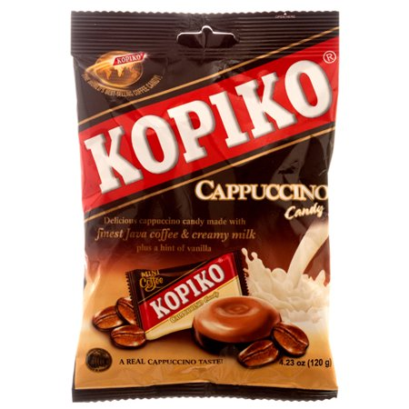 New 300495  Kopiko Cappuccino Candy 4.23 Oz (24-Pack) Candy Bag Cheap Wholesale Discount Bulk Candy Candy Bag Reading Glasses (New Candy)