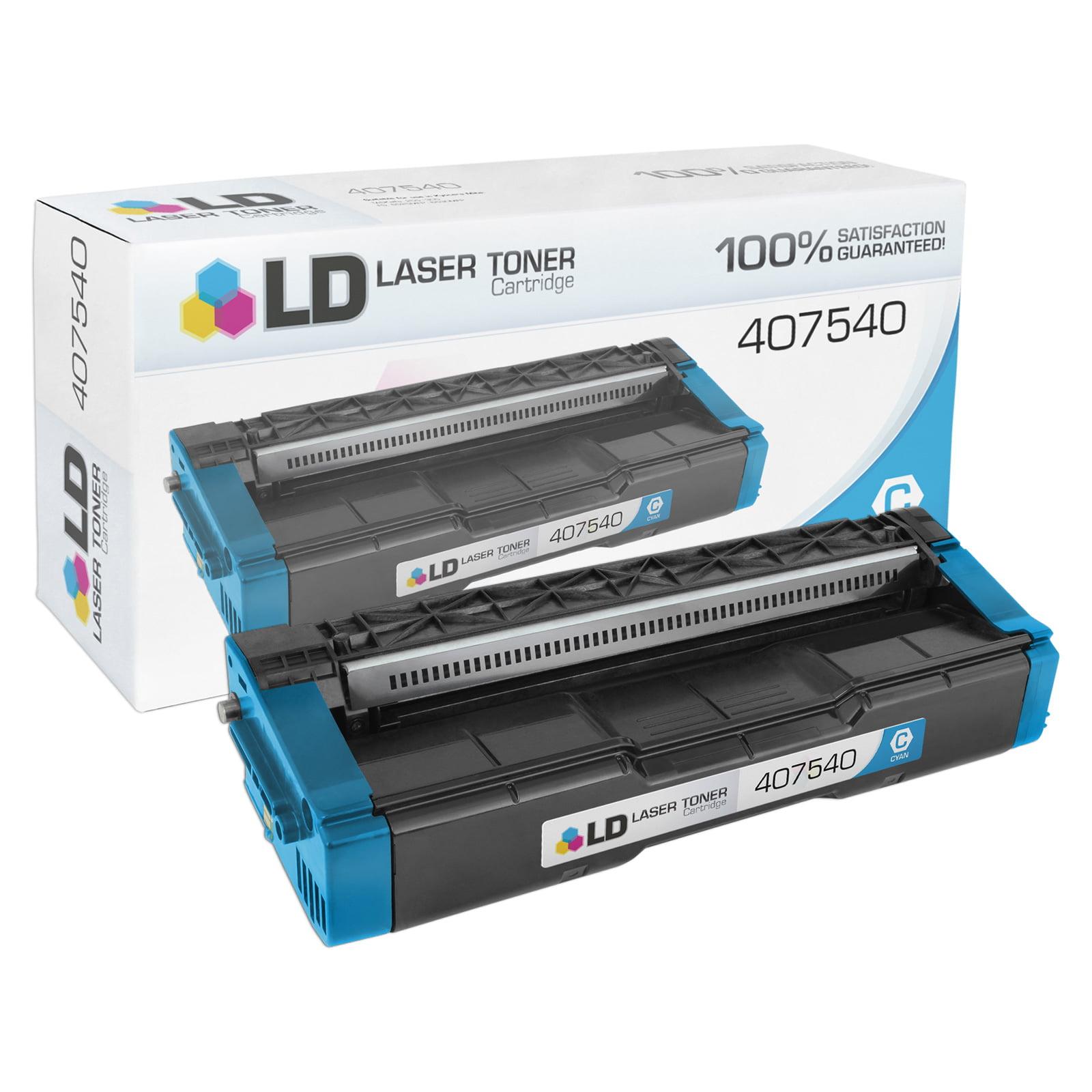 Compatible Ricoh 407540 / SP C250A Cyan Toner Cartridge (2,300 Page Yield)