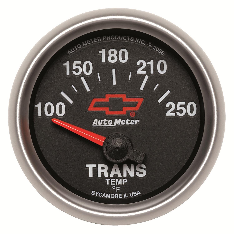 Auto Meter 3649-00406 Trans Oil Temp  - 100-250F - Electronic - GM Sport Comp II