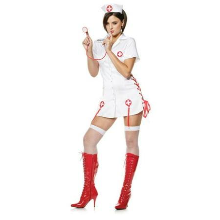 Adult .Nurse Nicky Costume