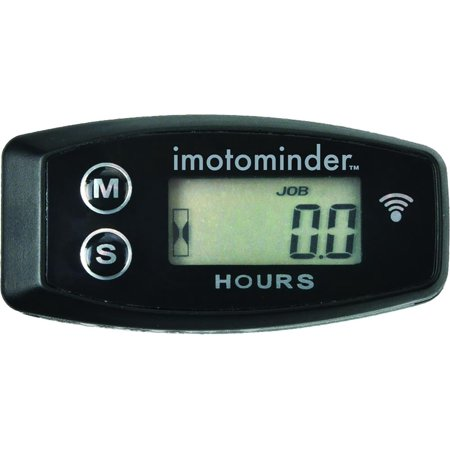 PC Racing PCMM2 Wireless Vibration Engine Hour Meter