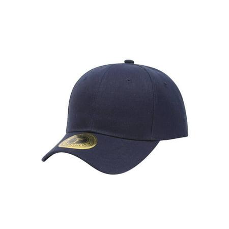 TopHeadwear Structured Hook & Loop Adjustable Hat