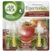 Air Wick Scented Oil Twin Refill Apple Cinnamon Medley (2X.67) Oz.