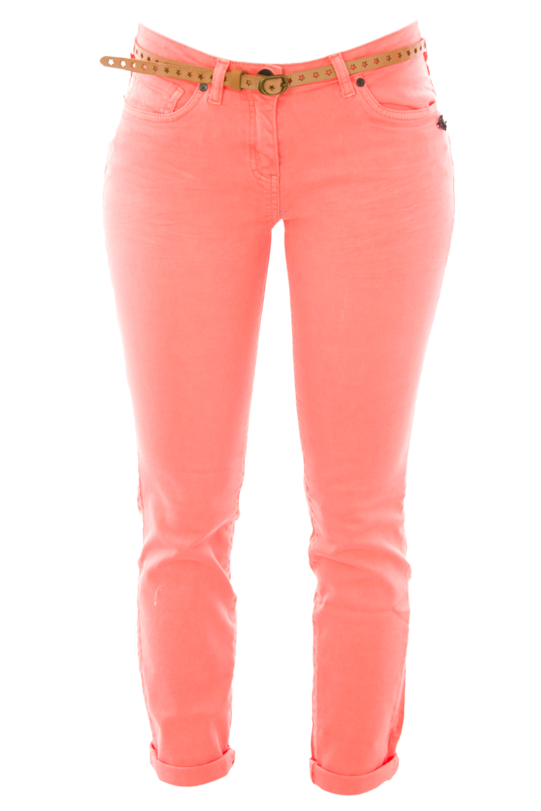 Scotch & Soda Maison Scotch Women's Belted Skinny Jeans