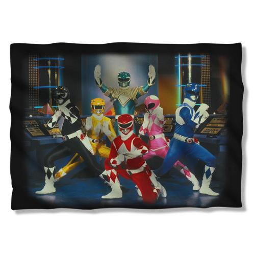 Power Rangers Stance Pillow Case White One Size