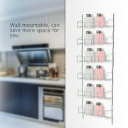 Dilwe Wall Mount Spice Storage Organizer Pantry Kitchen Standing Rack Shelf Holder US, Spice Storage, Spice Holder
