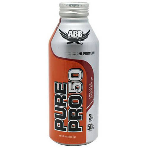 Image of ABB Pure Pro Pro 50, Chocolate Peanut Butter, 12 CT