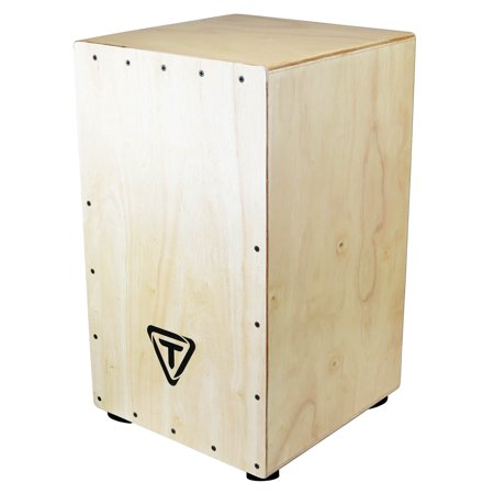 29 Series Siam Oak Cajon with Hand Painted Front Plate