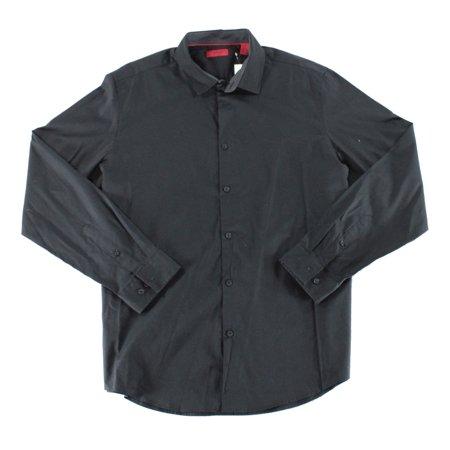 - Alfani Jet Mens Slim Fit Button Down Dress Shirt