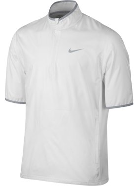 12f7db2d3b3f Product Image Nike Shield Short Sleeve Half-Zip Jacket (White)