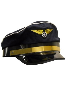 Airline Pilot Hat for Adults
