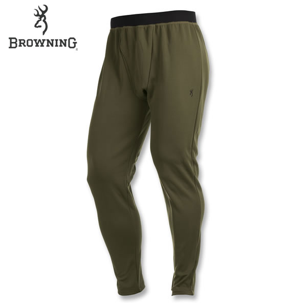 Browning Full Curl Merino Base Layer Pants (XL)- Loden by Browning Apparel