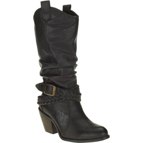 Faded Glory Women's Kendra Western Boot