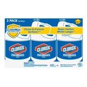 Product of Clorox Performance Bleach, 3 pk./121 oz. [Biz Discount]