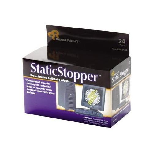 Read Right StaticStopper Cleaning Wipe REARR1206