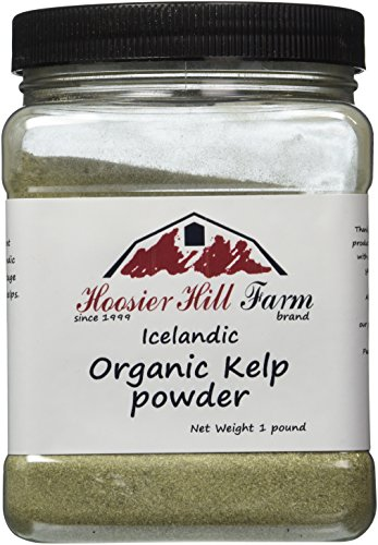 Hoosier Hill Farm Organic Icelandic Kelp Powder, 1lb. by Hoosier Hill Farm