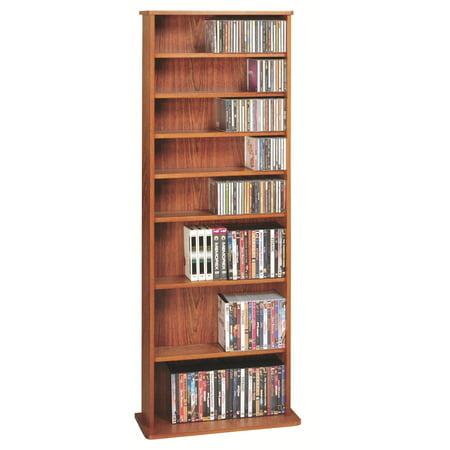Oak Veneer High Capacity Wall Rack (CDV-500 Series)-Finish: Cherry