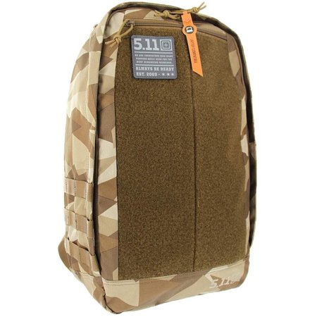 5.11 Tactical Morale Pack Military Backpack, Molle Bag Rucksack EDC, 20 Liter Small, Razzle Dark Brown, Style