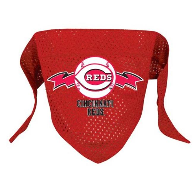 DoggieNation Cincinnati Reds Mesh Dog Bandana