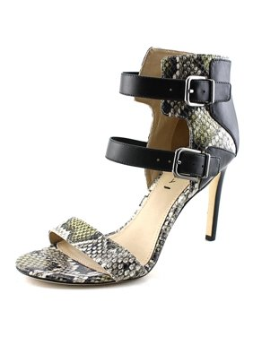 a77d85b65ac5 Product Image Evangeline Women Open-Toe Leather Heels. Via Spiga