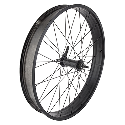 WHEEL MASTER WHL RR 26x4.0 559x73 WM XP736 BK NMSW 36 WM FB1000 STL 1sp CB BO BK 135/170mm 14gBK