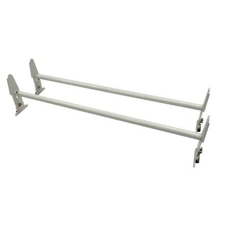 Mounted Car Rack - MaxxHaul 70440 Gutter Mount Van Rack (500 lb. Capacity)