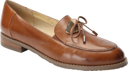 ros hommerson women's dana medallion loafer,coffee leather,us 9.5 ww