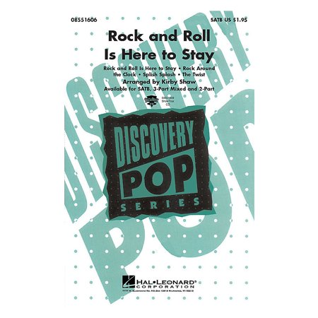 Hal Leonard Rock and Roll Is Here to Stay (Medley) 3-Part Mixed Arranged by Kirby - Halloween Rock And Roll Mix