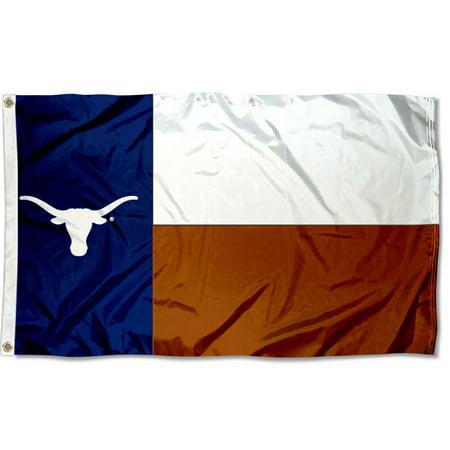Texas Longhorns State of Texas 3' x 5' Pole Flag