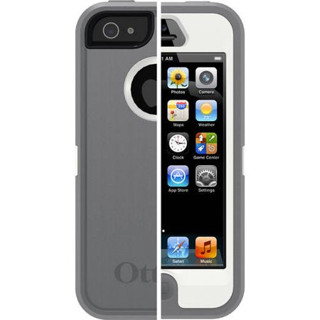e9b618ded40 OtterBox Apple iPhone 5/5SE/5s Case Defender Series, Black - Walmart.com
