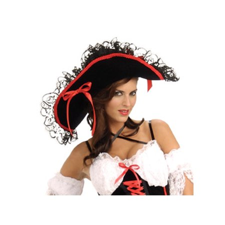 Adult Pirate Queen of the Sea Hat Rubies 49665 - Pirates Hats