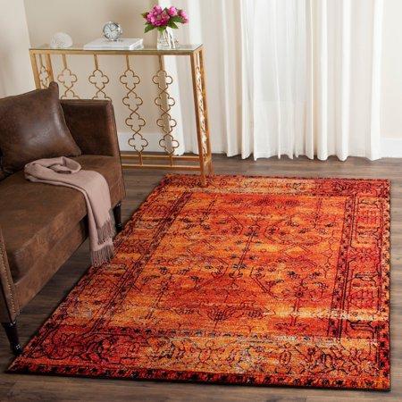 Vintage Hamadan Jessamine Traditional Area Rug or
