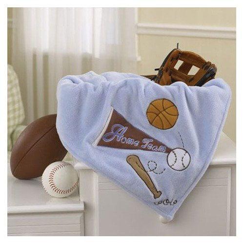 CoCaLo Baby Sports Fan Sherpa Blanket