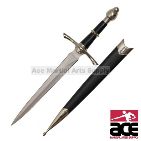 Medieval Knight's Dagger with - Sai Dagger