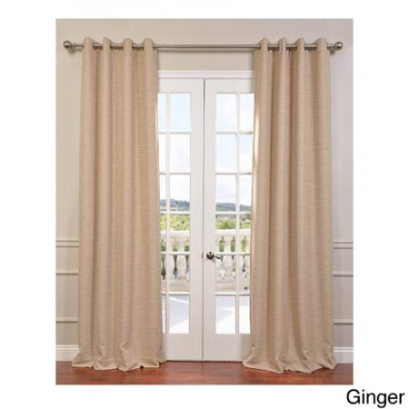 Exclusive Fabrics Bellino Grommet Top 96 Inches Blackout Curtain Panel