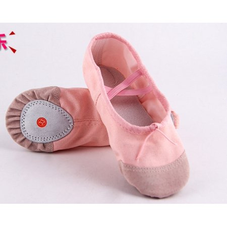 Baby Pink Ballet Dance Toe shoes Professional Ladies Satin Pointe Shoes (Bridal Silk Shoes)
