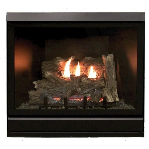 "Tahoe Clean Face Direct Vent IPC Deluxe 42"" NG Fireplace with Blower"