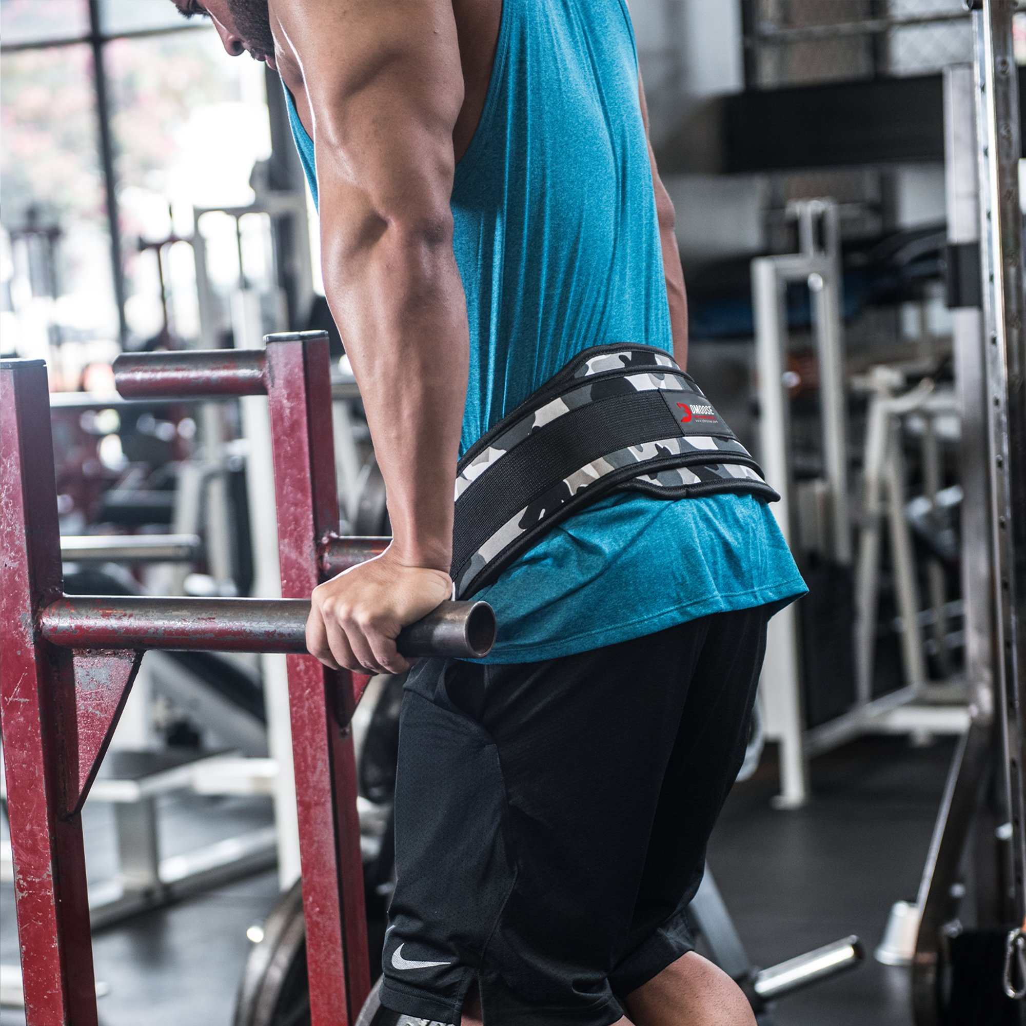 Details about  /Weight Lifting Belt With Metal Chain Pull-up Gym Equipment Bodybuilding Exercise
