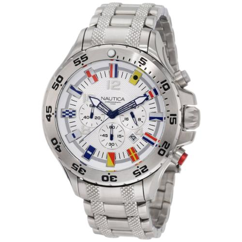 Men's Nautica Flag NST Chronograph Watch N20503G by Nautica