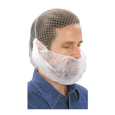 - Beard Net, White, 100 Pieces