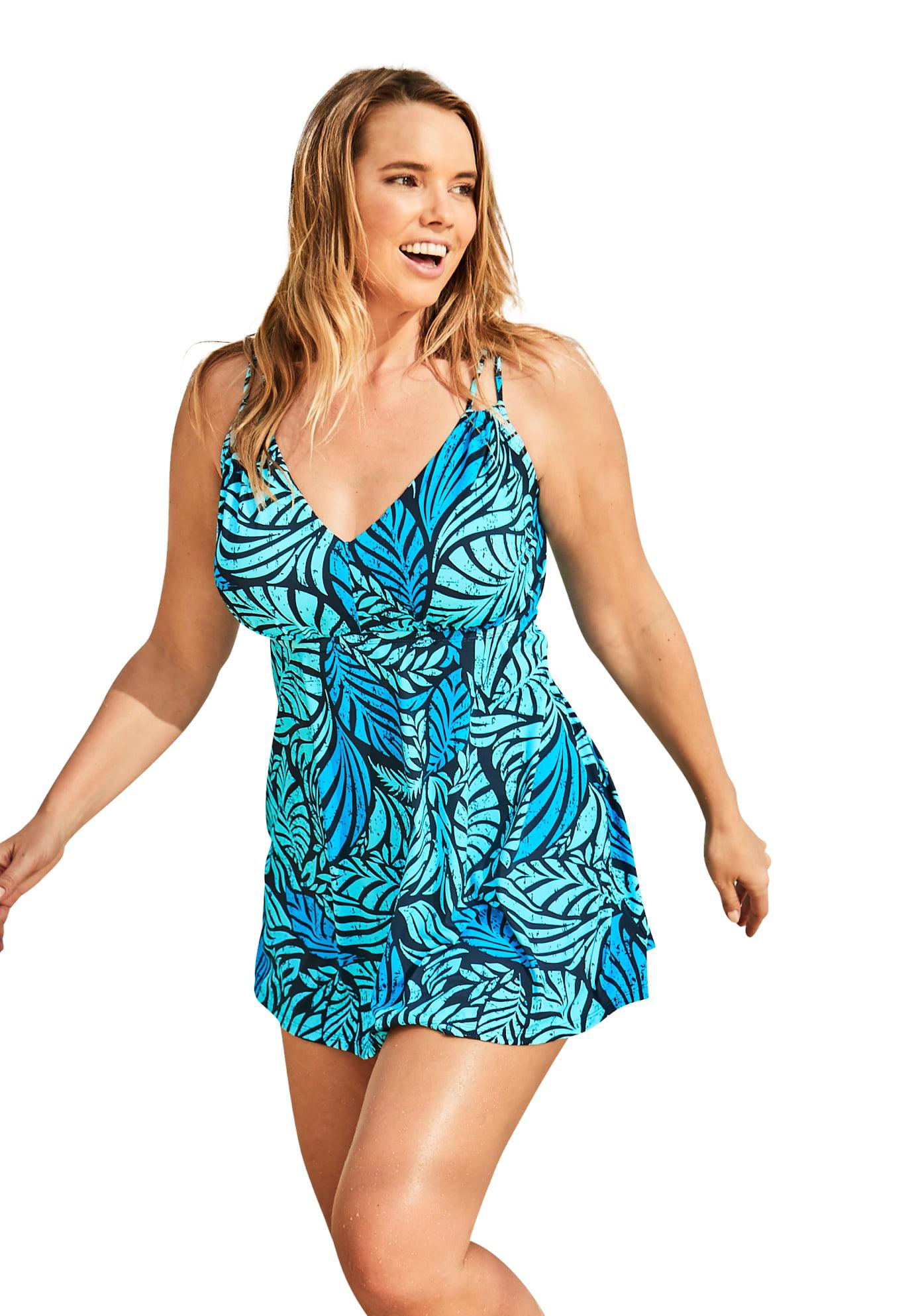 Multi-Style Convertible Swim Dress| Plus Size Active