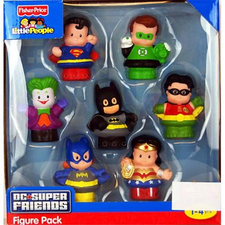 Fisher Price Little People DC Super Friends Exclusive Figure Pack of (Prize Packs)