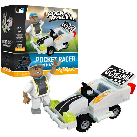 Miami Marlins OYO Sports Pocket Racer - No Size