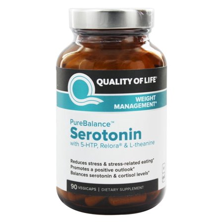 Quality Of Life Labs   Purebalance Serotonin For Weight Management   90 Vegetable Capsule S