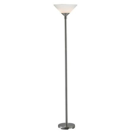 Adesso Furniture 7500-22 ARIES TORCHIERE - STEEL-S1 - image 1 of 1