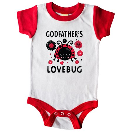 Valentine's Day Godfather's Lovebug Infant Creeper
