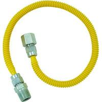 Brasscraft CSSL54-60 Gas Dryer and Water Heater Flex-Lines